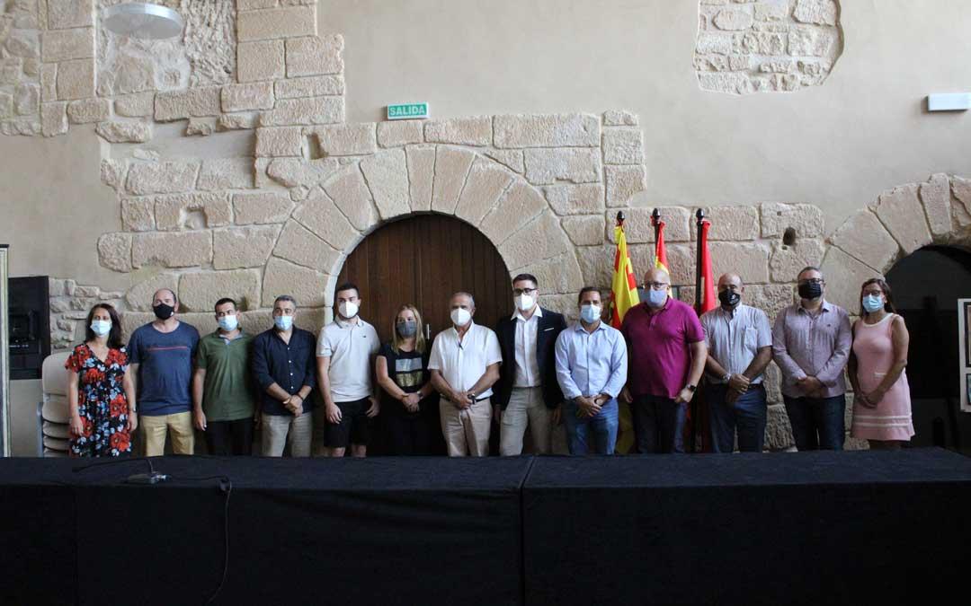 El equipo de gobierno de la Comarca está compuesto por los consejeros del Partido Popular y Ciudadanos / P.S.