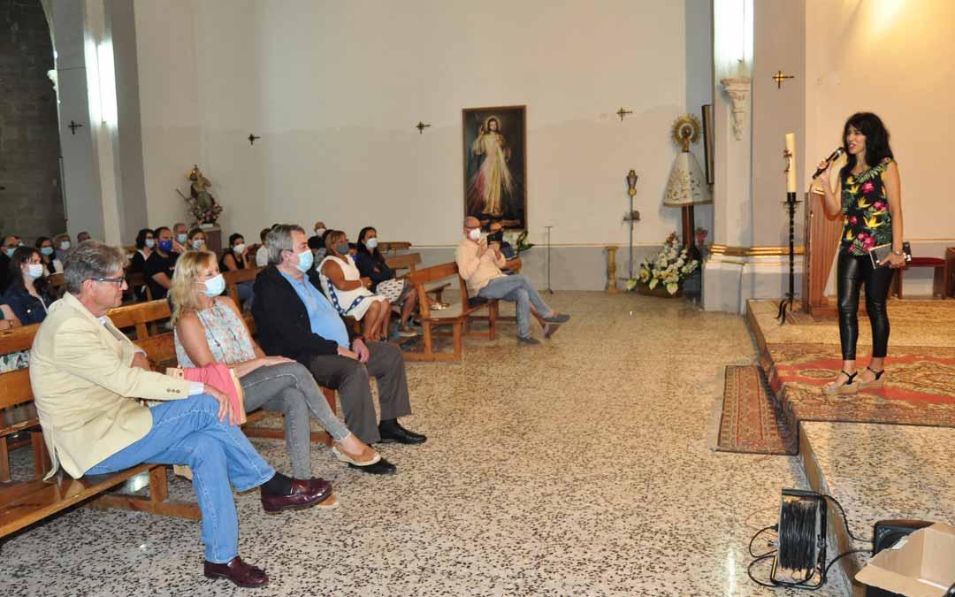 El templo parroquial de Fuentespalda acogió uno de los recitales del FAN. J.L.
