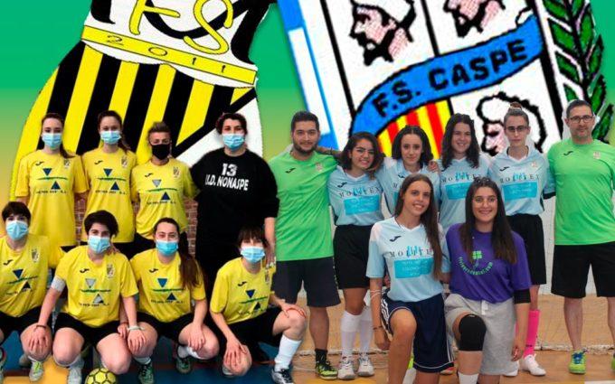 El Fútbol Sala femenino se prepara para una nueva temporada en el Bajo Aragón-Caspe