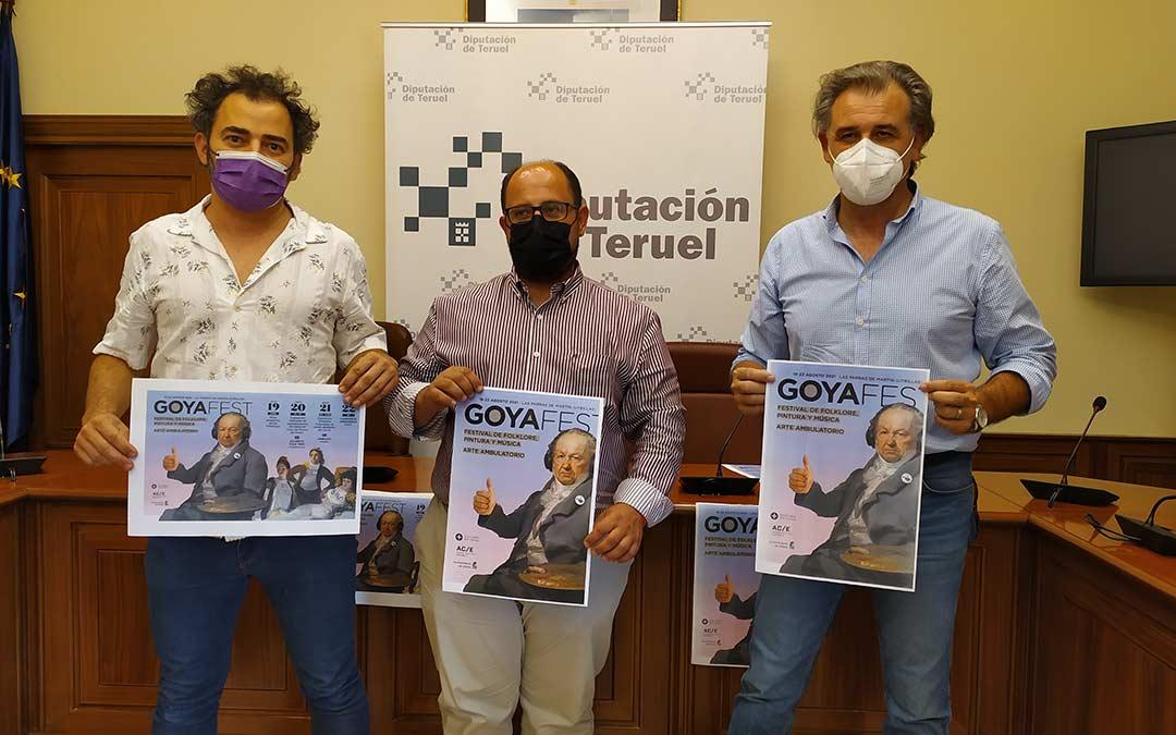 En el centro, Alberto Izquierdo; a la izquierda de la imagen, Raúl Márquez; y a la derecha, Joaquín Moreno./DPT