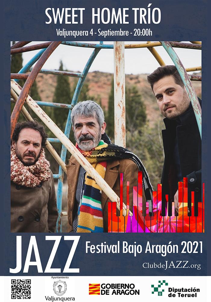 Sweet Home Trio en Valjunquera