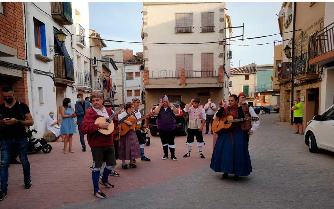 La jornada contó con un pasacalles de jotas / Ayuntamiento de Nonaspe