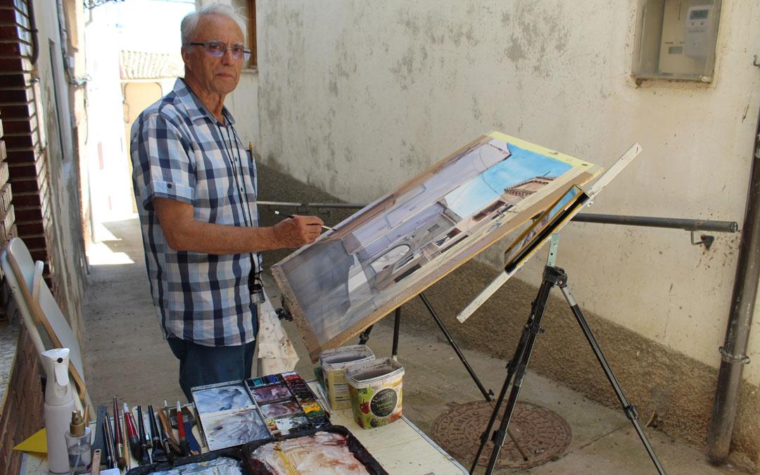 José María Moreno, arquitecto bilbilitano afincado en Zaragoza, ganó ya el concurso en 2019. Este año fue quinto premio. / B. Severino