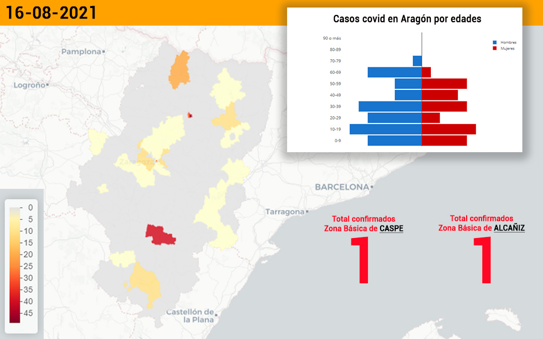 La zona básica de Cape ha registrado un positivo y la de Alcañiz, otro./ L.C.