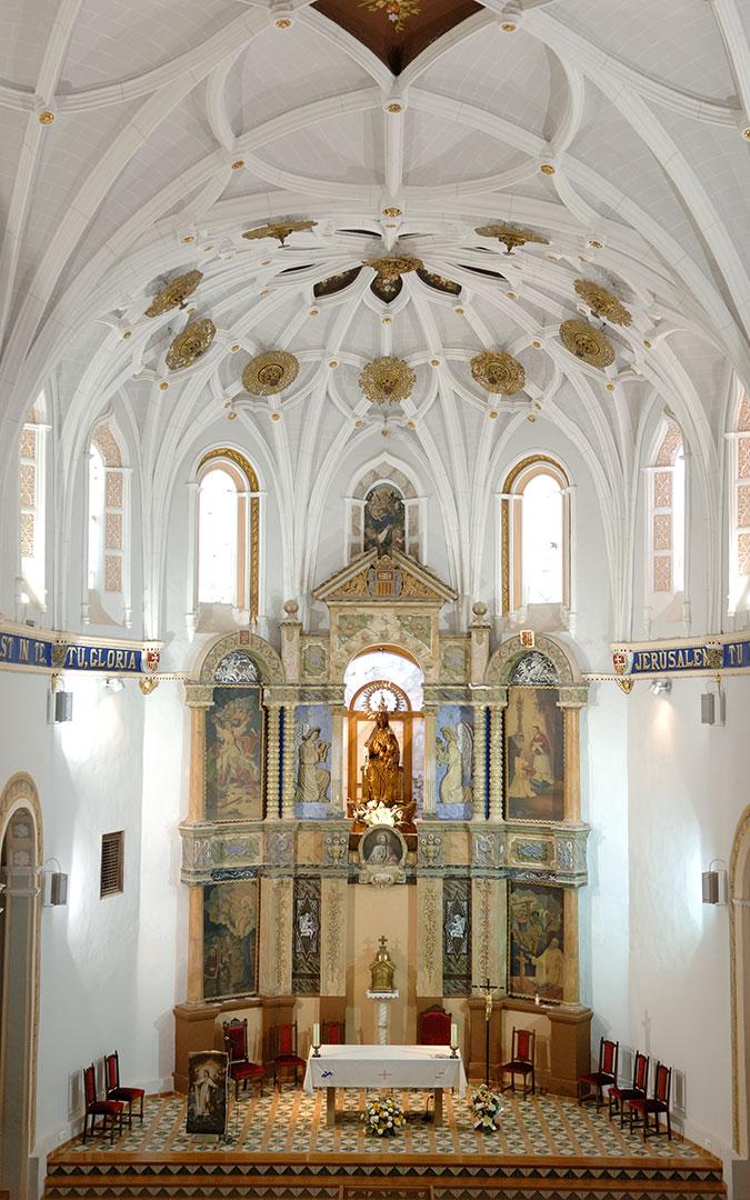 Altar del Monasterio del Olivar