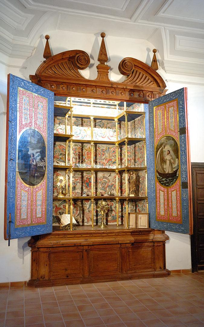 Interior del Monasterio del Olivar
