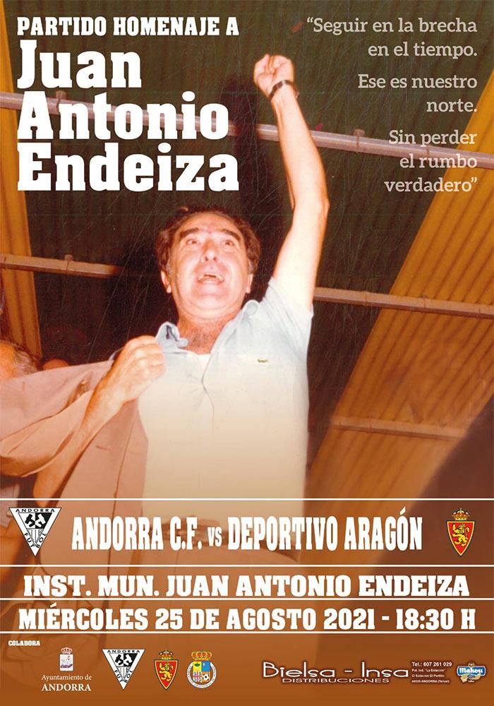 Partido Homenaje Juan Antonio Endeiza en Andorra