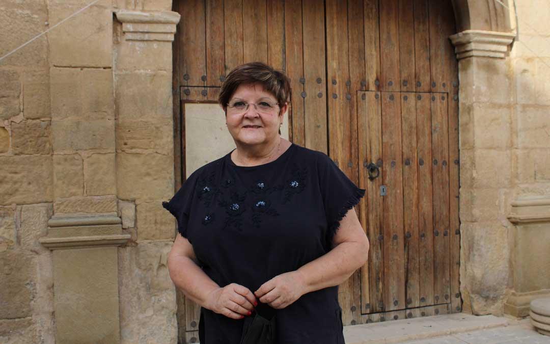 Pilar Mustieles es la alcaldesa de Caspe / P.S.