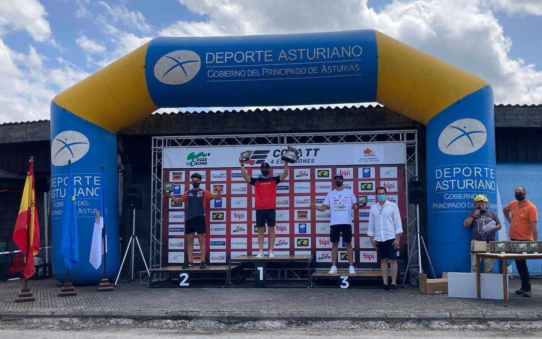 El valderrobrense suma un nuevo podio en la 4 Estaciones.