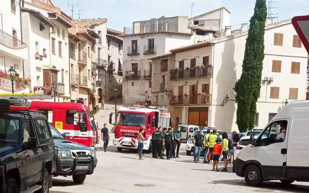 El proyectil ha sido hallado, de forma fortuita, en una vivienda del centro del casco urbano.