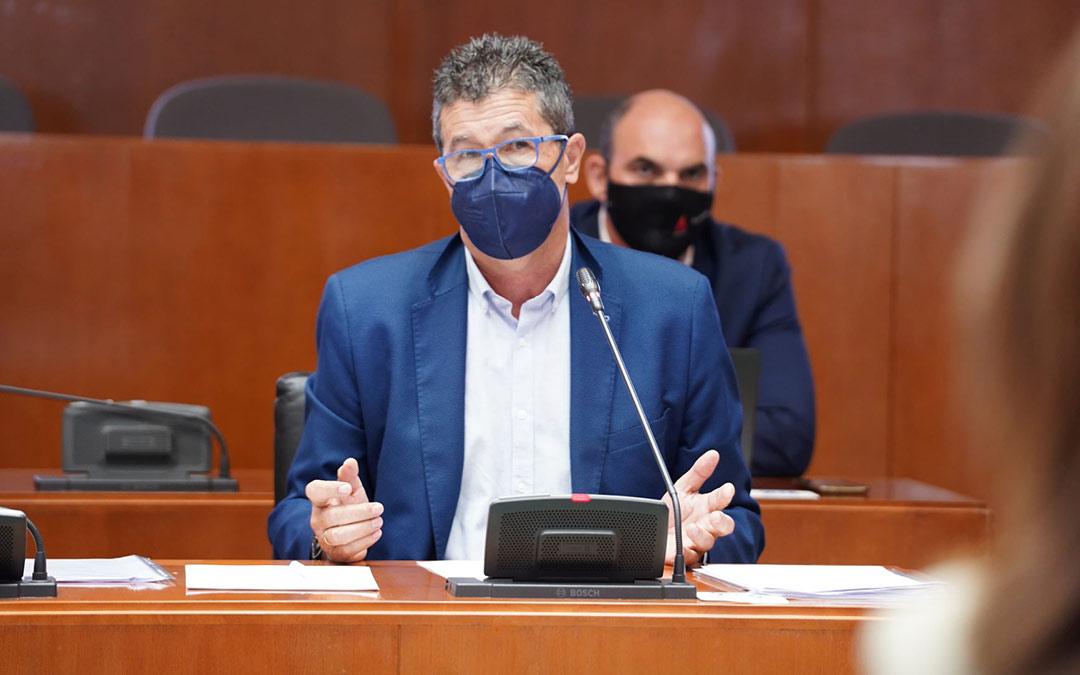 El diputado autonómico oscense del Partido Popular, Antonio Romero./PP