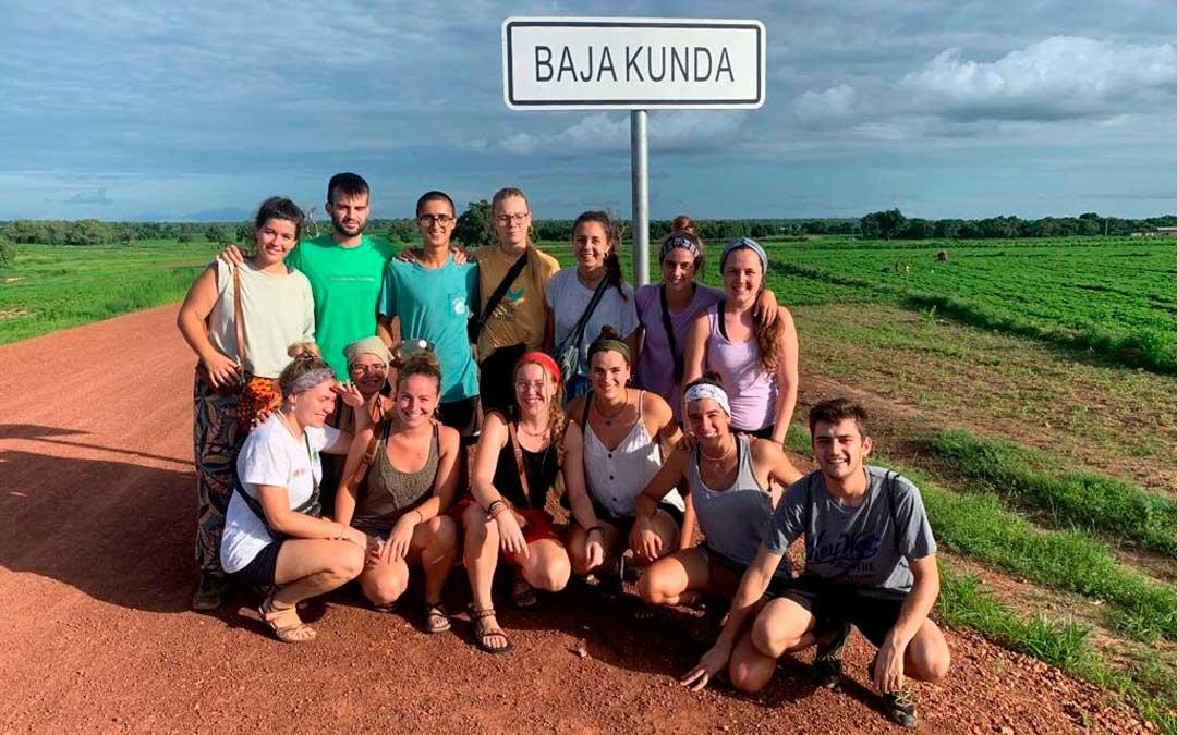 Los voluntarios de la ONG en Baja Kunda / P. P.