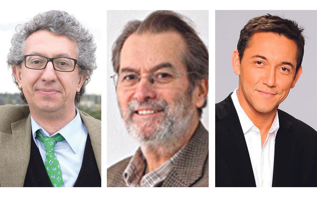 Antonio Calvo, Andreu Missé y Javier Ruiz./ L.C.