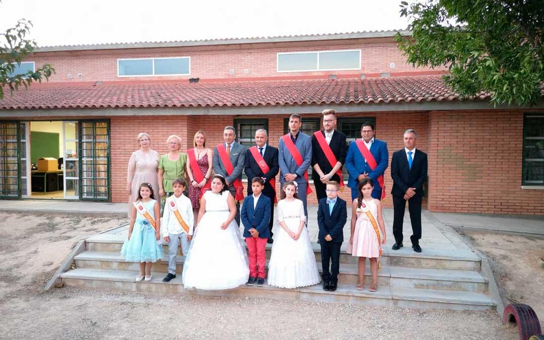 A la presentación de las nonaspinas y los nonaspinos acudió representación consistorial / Ayuntamiento de Nonaspe