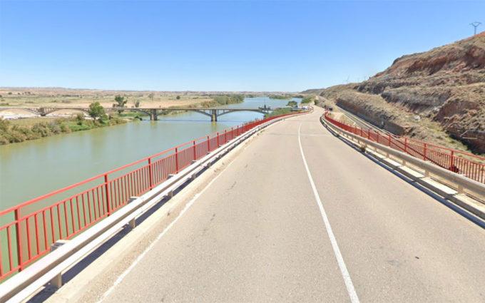 En marcha los trabajos para la reparación del puente sobre el ferrocarril en Quinto