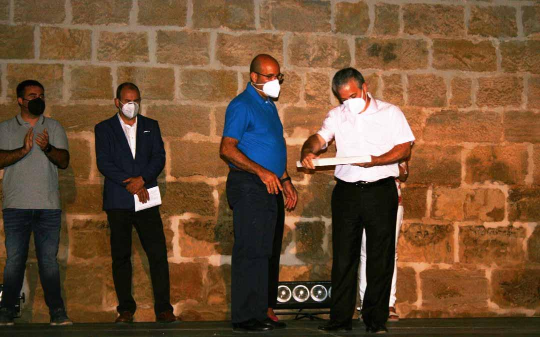El presidente de la fundación FUNIBER recibió el III Galardón Asunción Tomás Foz. F.V.P.