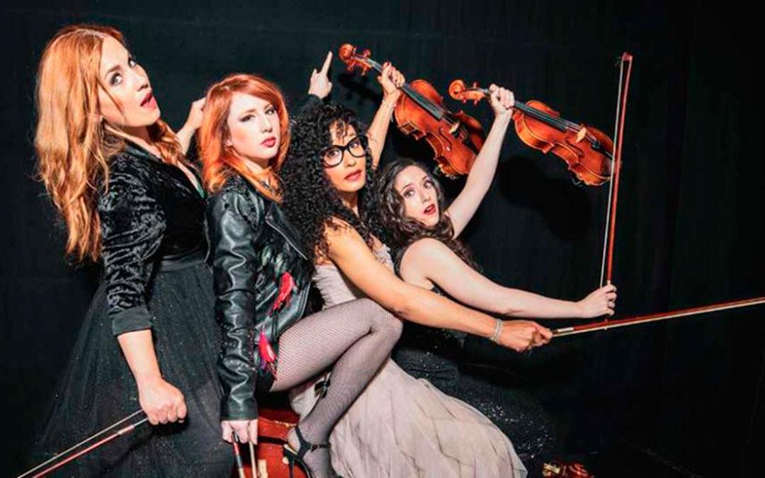 'Stradivarias. El retorno. Música clásica y contemporánea' se verá este viernes / La Comarca