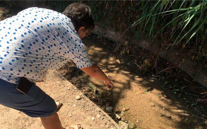 Siguen sin solucionarse los vertidos de aguas fecales en Alcañiz