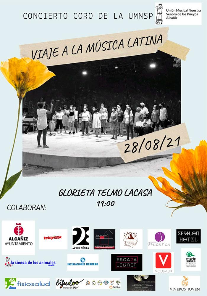 'Viaje a la Música Latina' en Alcañiz