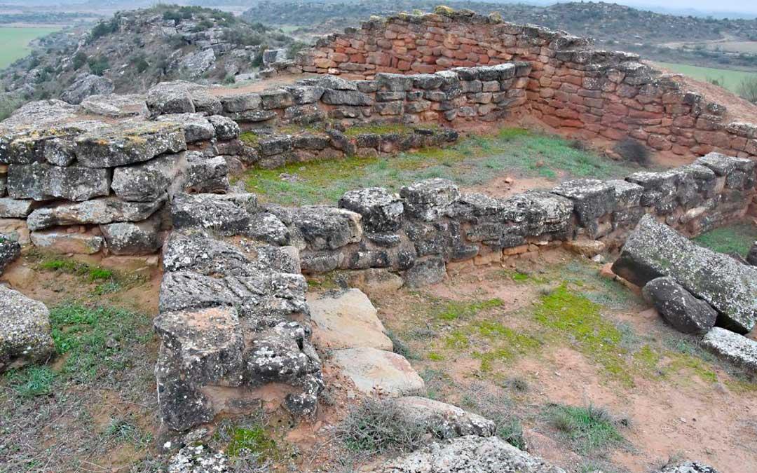 Restos del poblado de La Tallada en Caspe / Ayuntamiento de Caspe
