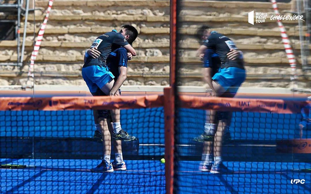 Perino y Ayats dieron la sorpresa de los cuartos de final eliminando a Silingo y Sanz / Germán Pozo