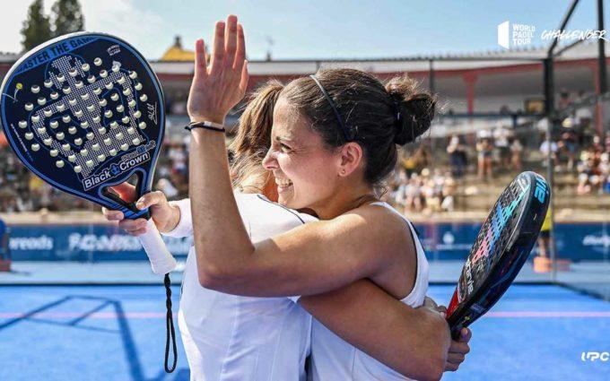 Amatriaín-Navarro y Nieto-Allemandi, parejas vencedoras del Challenger de pádel en Calanda
