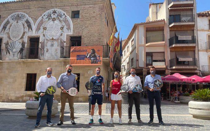 Cuatro días decisivos para alzarse con el triunfo del World Padel Tour Challenger en Calanda