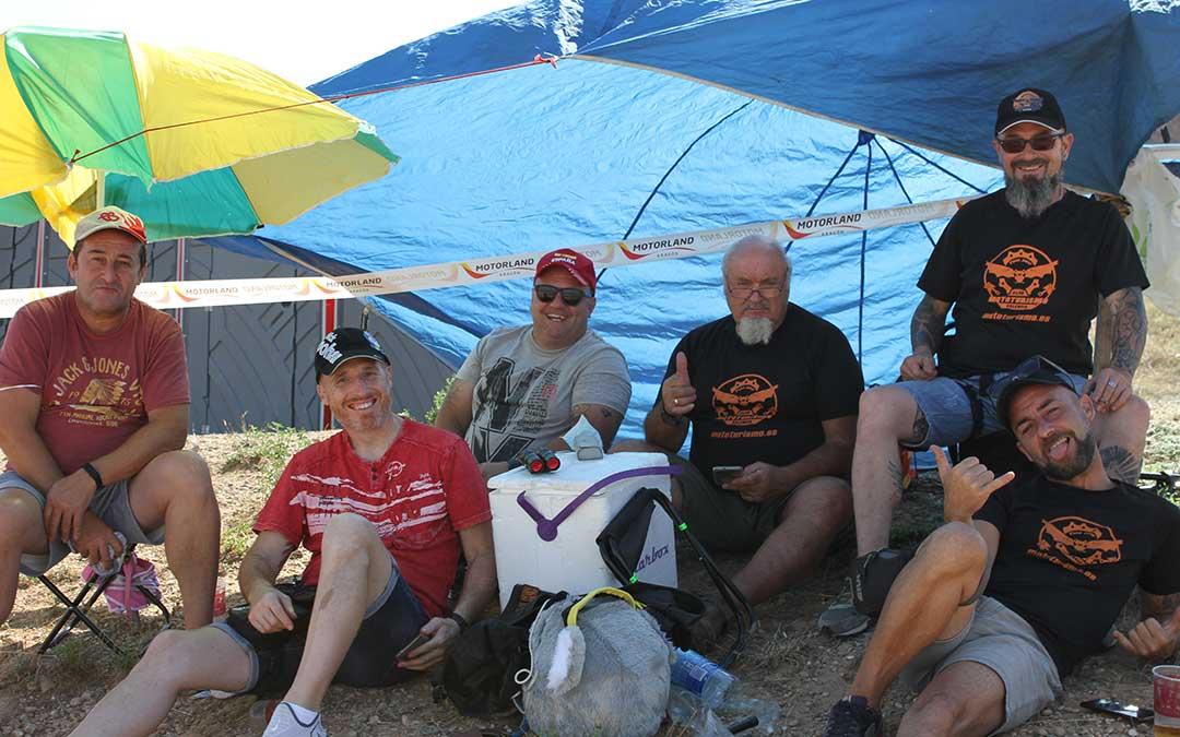 Miembros del Club Mototurismo de Valencia han disfrutado de las sesiones clasificatoria./ Laura Martínez
