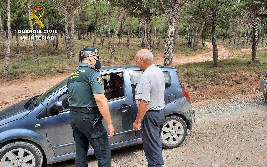 La pérdida de orientación ha sido la principal causa de las intervenciones de la Guardia Civil. / GC