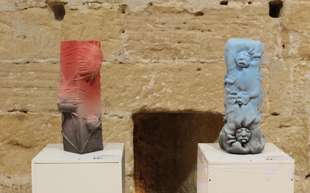 Exposición del ICRE en el Castillo de Albalate del Arzobispo. Obras de Joan Puyal. / B. Severino