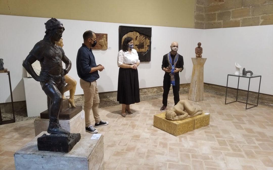 El Castillo de Albalate acoge la exposición colectiva del Instituto Catalán de Escultura