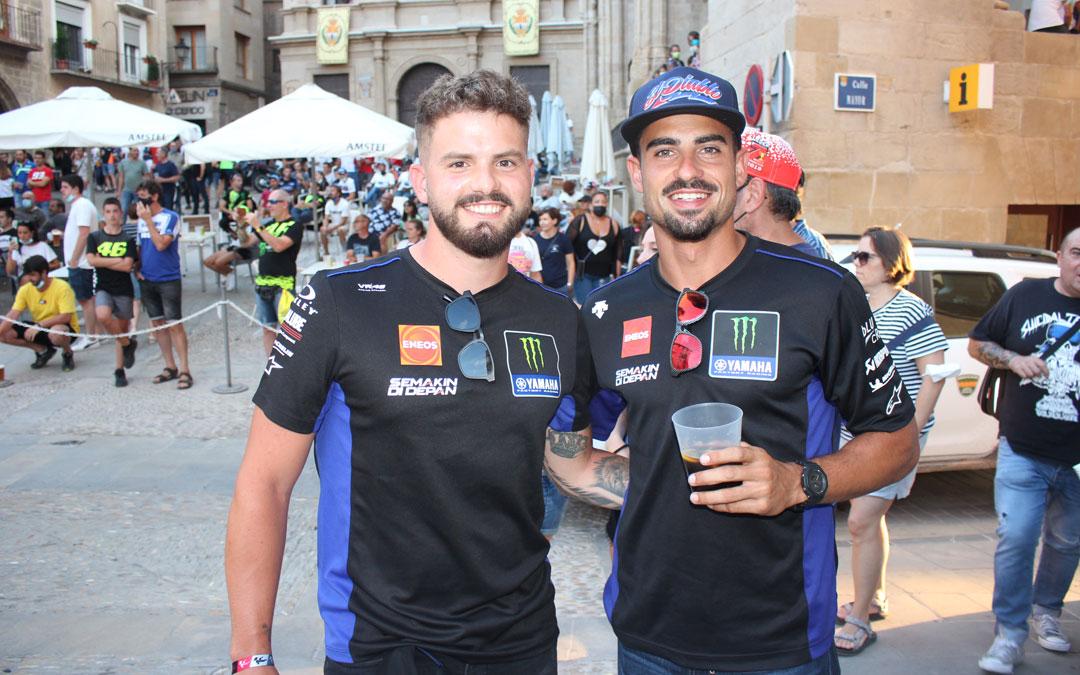 José de Fez y Kevin Marzá, dos amigos de Castellón / L. C.