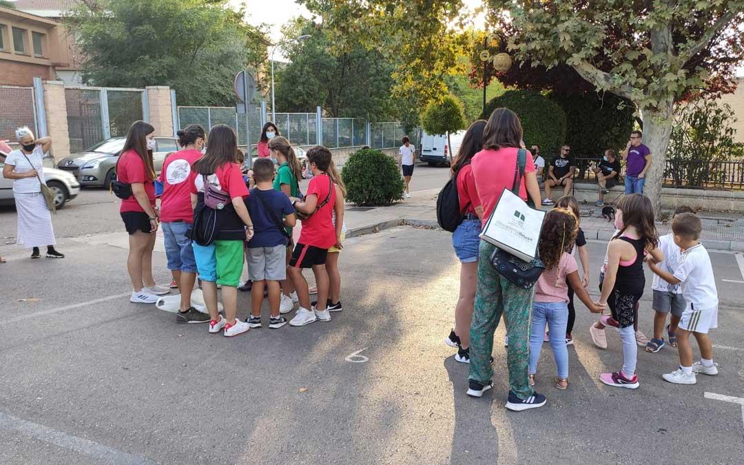Gymkana para los más pequeños que seguirán teniendo más actividades este mes. / Ayto. Andorra