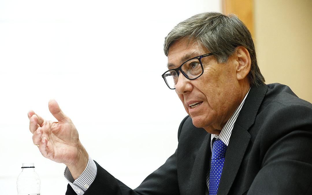 Arturo Aliaga, vicepresidente del Gobierno de Aragón y presidente de Motorland./ Luis Correas-DGA