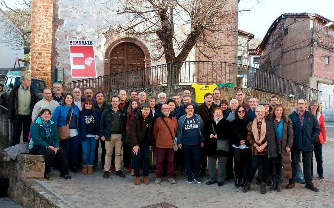 Imagen de la primera asamblea de la España Vaciada, que tuvo lugar en Cameros (La Rioja) / La Comarca