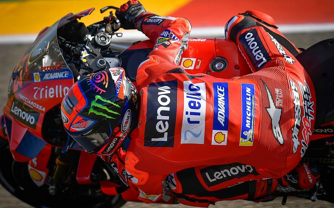 Bagnaia en Motorland Aragón MotoGP./ MotoGP