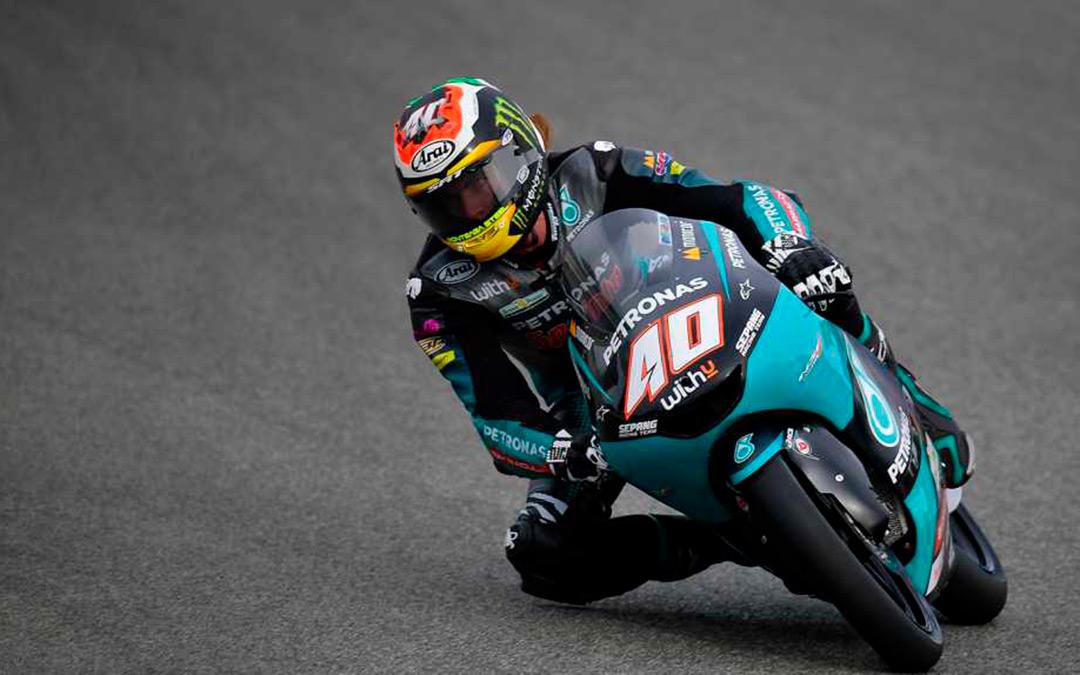 Darryn Binder logra la pole en Moto3./ MotoGP