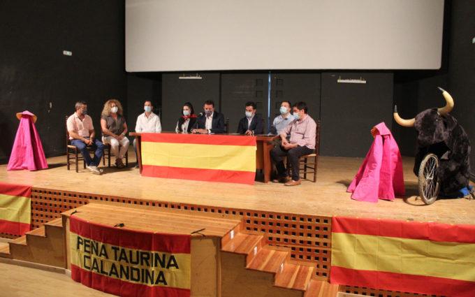 Calanda presenta el cartel de la Feria Taurina del Pilar con festejos el 10 y 12 de octubre