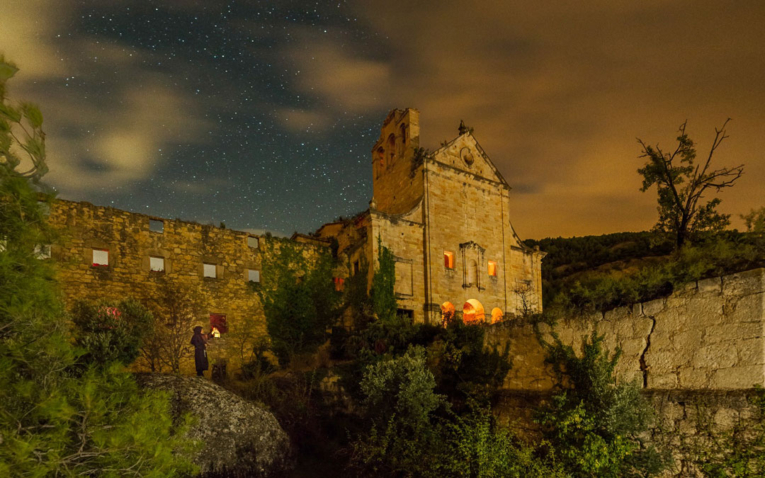 'Noche estrellada en el Convento del Desierto', de Tomás Plaza Serrano. 1º Atractivos Turísticos.