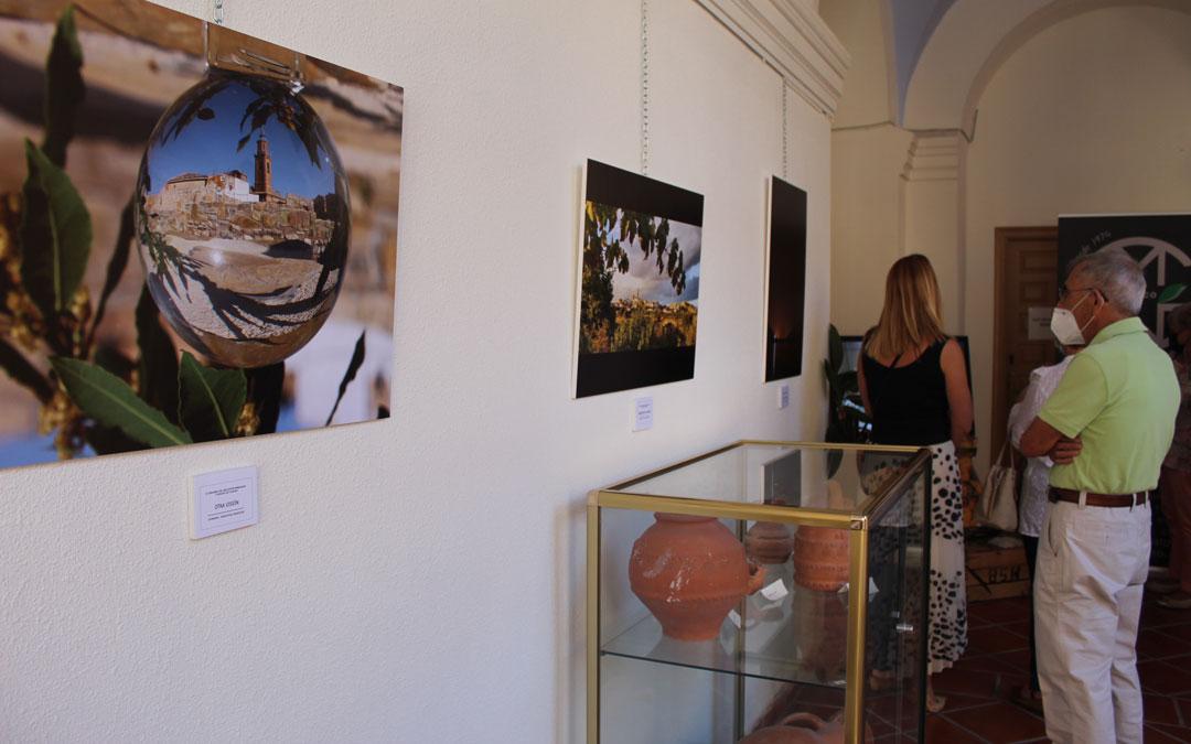 Exposición del II Concurso Fotográfico sobre Melocotón Embolsado y Paisajes de Calanda. / B. Severino