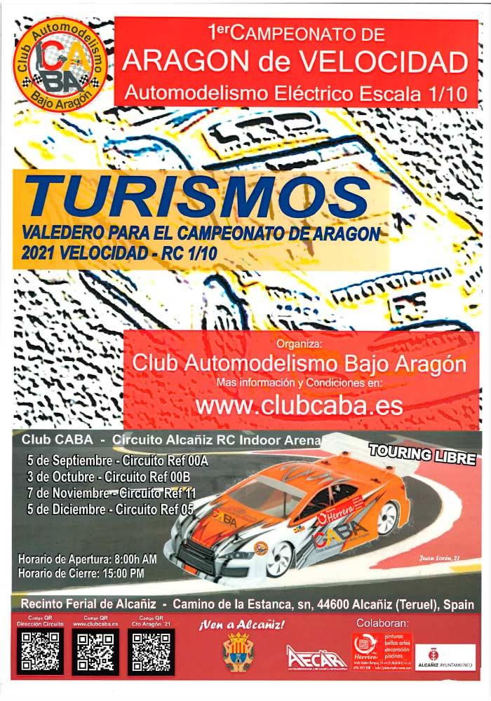 1er Campeonato de Aragón de Velocidad Automodelismo Eléctrico en Alcañiz