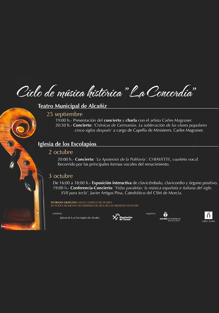 Ciclo música histórica 'La Concordia'