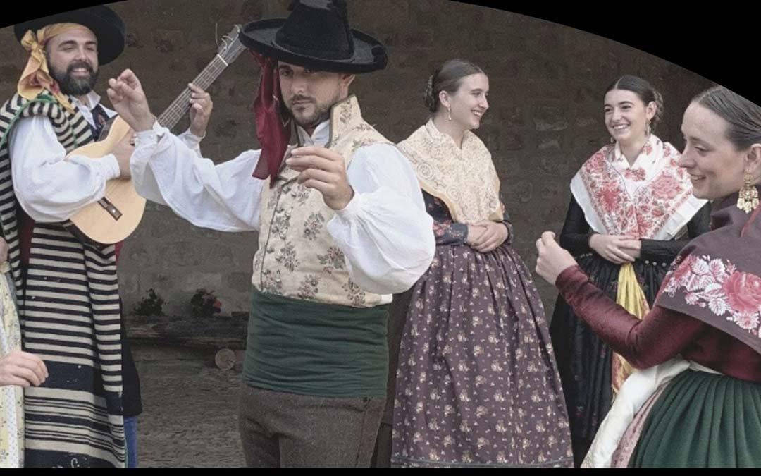 Imagen del cartel del grupo folclórico Ciudad de los Amantes./Ayuntamiento de Andorra
