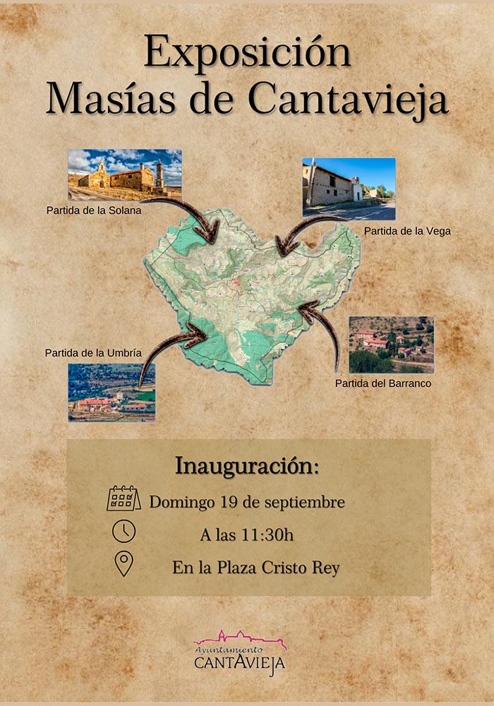 Exposición Masías de Cantavieja