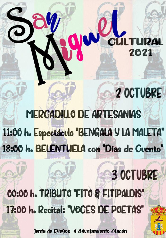 San Miguel Cultural 2021 en Alacón