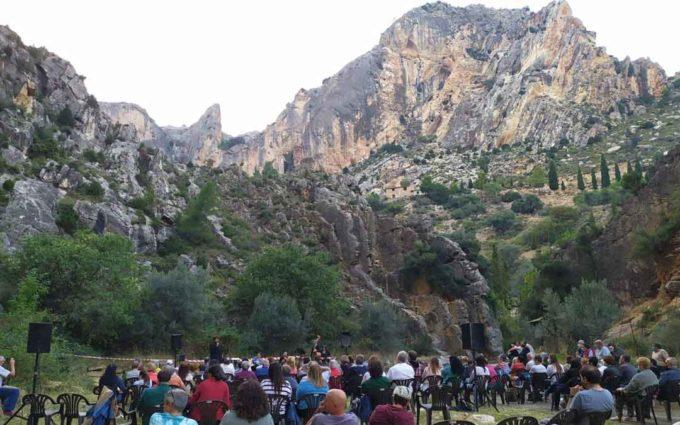 El Llovedor de Castellote protagonista del Festival Maestrazgo: paisaje y música