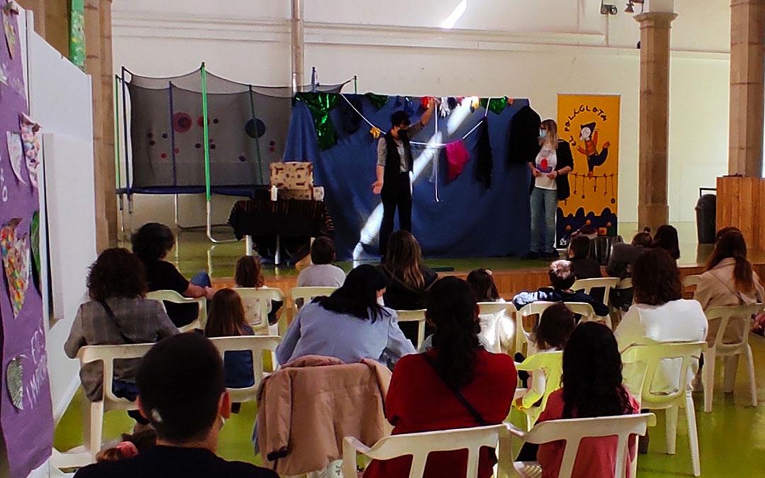 Foto de archivo de una actividad en el Centro Joven de Alcañiz / Ayto. Alcañiz