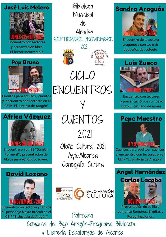 'I Ciclo Encuentros y Cuentos' en Alcorisa