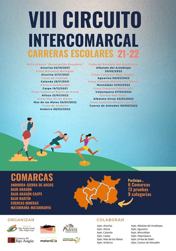 VIII Circuito Intercomarcal Carreras Escolares 21-22