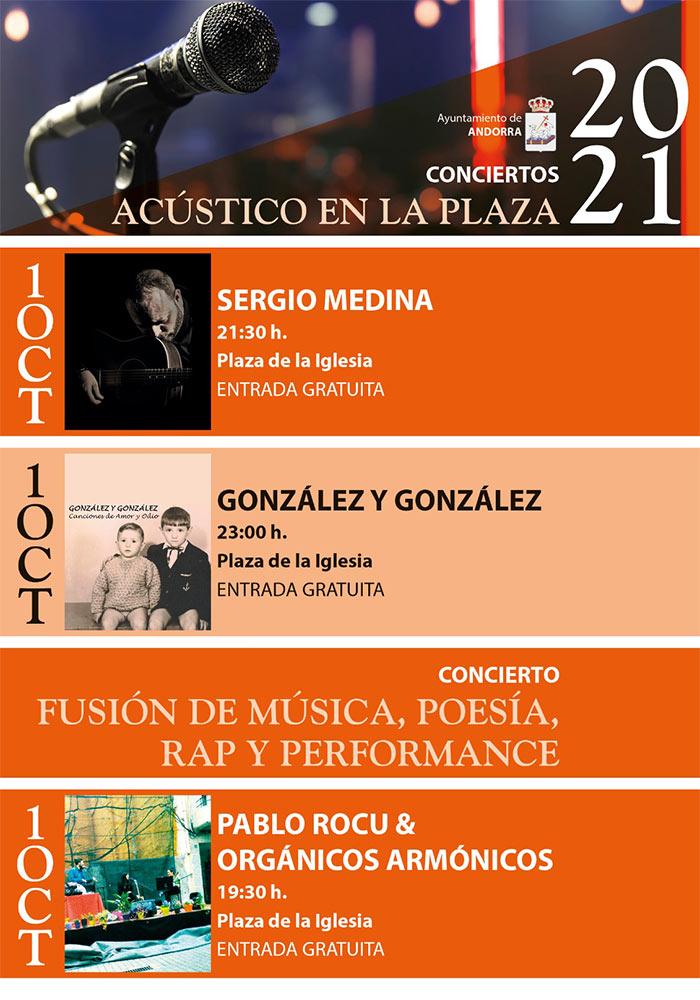 Conciertos 'Acústico en la Plaza' en Andorra